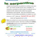 La Serpentine – 18 Mars 2017